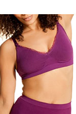 Boob Designs Fast Food Nursing Bra (Raspberry) by Boob