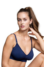 Boob Designs Fast Food Nursing Bra (Navy) by Boob