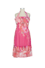 Jules & Jim 2-Ways Hibiscus Maternity Dress by Jules & Jim