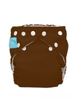 Charlie Banana® 2-in-1 One Size Reusable Diapers (Holly Brown) by Charlie Banana