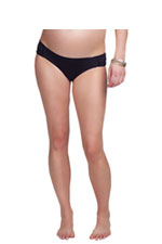 Ingrid & Isabel Hipster Bottom (Graphite) by Ingrid & Isabel