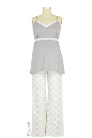 Belabumbum Starlit 2-pc. Nursing Cami and Pant Set (Starlit) by Belabumbum