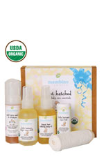 Mambino Organics Just Hatched Baby Arrival Kit (5pcs) () by Mambino Organics