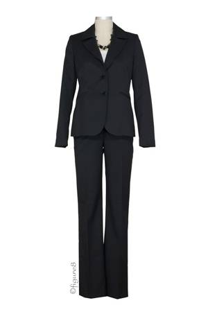 The Lisbon 2-pc. Maternity Pant Suit (Black) by Noppies
