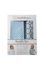 SwaddleDesigns Swaddle Duo Gift Set by SwaddleDesigns