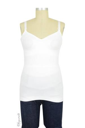 Boob Design Slimming Nursing Singlet (White) by Boob Design