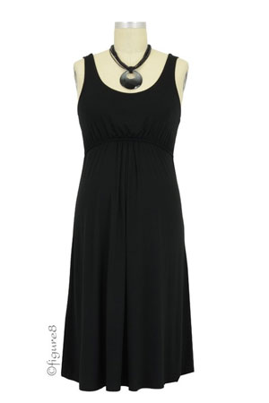Ying Anytime Sleeveless Nursing Dress (Black) by Larrivo