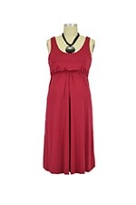 Ying Anytime Sleeveless Nursing Dress (Deep Red/ Burgundy) by Larrivo