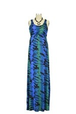Ying Anytime Maxi Nursing Dress (Blue Green Print) by Larrivo