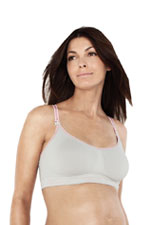 Cake Lingerie Cotton Candy Seamless Nursing Bra (Grey) by Cake Lingerie