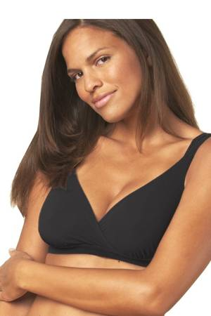 Bella Materna Padded Anytime T-Shirt Bralet (Black) by Bella Materna