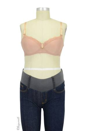 Bella Materna Sexy T-Shirt Nursing Bra (Rose) by Bella Materna