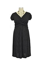 Hillary Luxe Jersey Nursing Dress (Dot) by Japanese Weekend