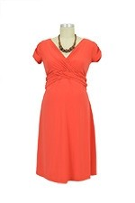 Hillary Luxe Jersey Nursing Dress (Sunset) by Japanese Weekend