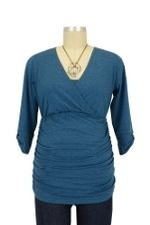 Danielle D&A Tabbed Sleeve Nursing Top by Japanese Weekend