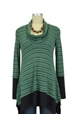 Penelope Nursing Sweater (Mojito Stripes) by Maternal America