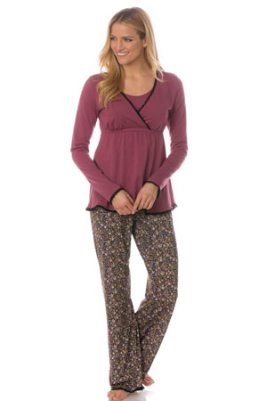 Majamas Margo Nursing PJ Set (Woodland) by Majamas