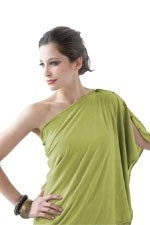 Bamboo Nursing Wrap (Wild Lime) by Mothers en vogue