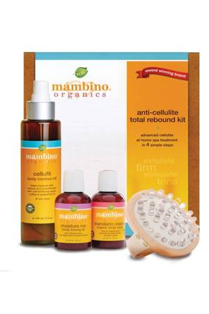 Mambino Organics Anti-Cellulite Total Rebound Kit () by Mambino Organics