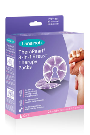 Lansinoh® Thera°Pearl® 3-in-1 Breast Therapy by Lansinoh