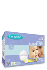 Lansinoh Disposable Nursing Pads- 100 count () by Lansinoh