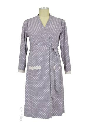 Belabumbum Dottie Robe (Grey Dot) by Belabumbum
