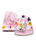 Magnificent Baby Reversible Baby Girl Cap (Elephant/Marrakesh) by Magnificent Baby