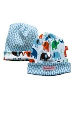 Magnificent Baby Reversible Baby Boy Cap (Elephant/Marrakesh) by Magnificent Baby