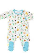 Magnificent Baby Boy's Footie (Circus) by Magnificent Baby