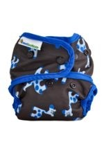 Best Bottom Diaper Shells-Snap (Blue Giraffe) by Best Bottom Diapers