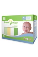 bumGenius 5+ Pack 4.0 One-Size Stay-Dry Cloth Diaper Hook & Loop (Neutral Colors) by bumGenius