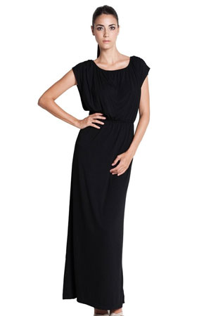 Giselle Elastic Waist Maxi Nursing Dress by Dote