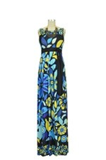 Celia Maxi Maternity Dress (Floral Print) by Olian