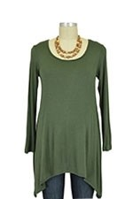 The Maggie Nursing Top (Olive) by Milkstars