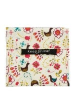 Keep Leaf Reusable Large Baggie (Birds) by Keep Leaf