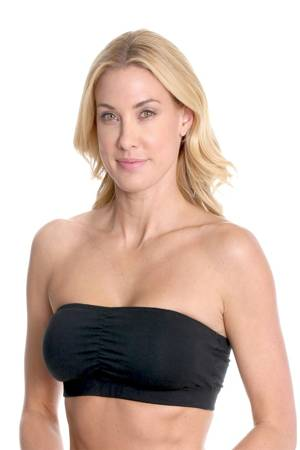 Majamas Organic Cabrio Strapless Nursing Bra (Black) by Majamas