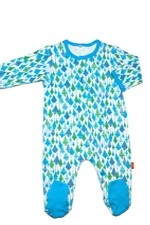 Magnificent Baby Boy's Footie (Blue Kites) by Magnificent Baby