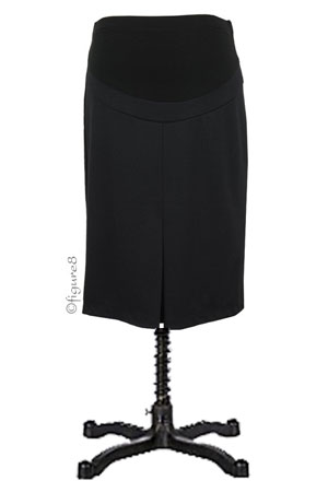 Audrey Maternity Pencil Skirt with Belly Panel by Maternal America