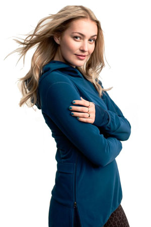 Boob Design Ready Flex Fleece Nursing Hoodie (Petrol) by Boob Design