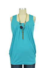 Baju Mama Jackie Sleeveless Heart Shape Nursing Top (Jade) by Baju Mama