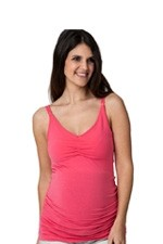 Ripe Nursing Tank With Clip Release (Peach) by Ripe Maternity