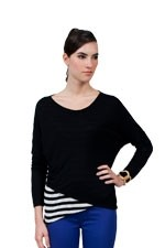 Iris Nursing Top (Black) by Dote