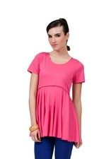Fawn Nursing Top (Fuchsia) by Dote