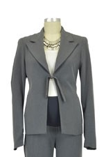 Jules & Jim Classic Kate Maternity Suit Jacket (Dark Melange) by Jules & Jim