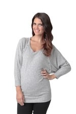 Angora Batwing Nursing Sweater by Ripe Maternity