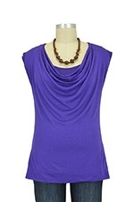 The Jolie Nursing Top (Purple) by Milkstars