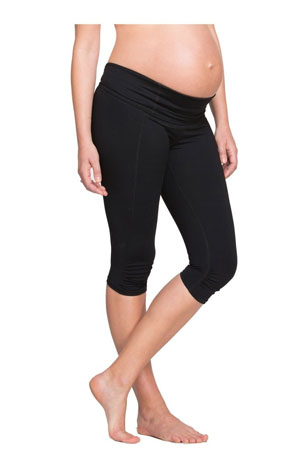 Ingrid & Isabel Active Knee Length Maternity Pant by Ingrid & Isabel