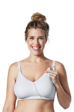 Bravado Essential Embrace Nursing Bra (White Orchid) by Bravado