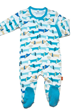Magnificent Baby Magnetic Me™ Baby Boy's Footie by Magnificent Baby