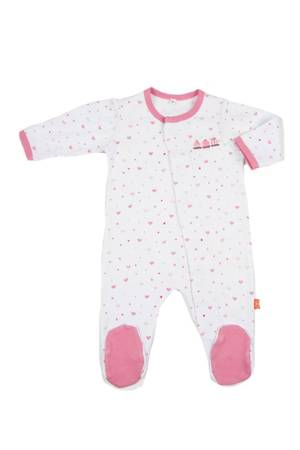 Magnificent Baby Girl's Footie (Heart) by Magnificent Baby
